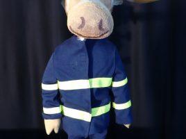 Besucht die Gemeindebücherei: Finn, der Feuerwehrelch. (Foto: Wodo)