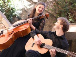Duo Giussani mit Pauline Stephan (Violincello) und Julian Richter (Gitarre) mit spanischen Werken von Granados. (Foto: privat)