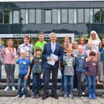 Belohnung für fleißige Kinder: Besuch einer echten Hochschule