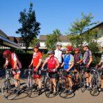 Radsportler des HSC auf Trainingsfahrt am Niederrhein