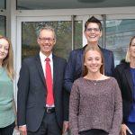 Zwei neue Auszubildende bei der WFG Kreis Unna