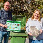 Zuviel Bioabfall landet im Restmüll: GWA bittet Eigenkompostierer zum Gespräch