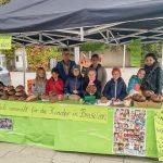Zum Erntedank:  Aloysiusschule verkauft Brot zugunsten der Partnerschule Frei Alberto