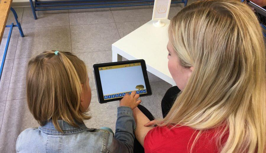 Die neuen Tablets der Dudenrothschule erlauben ein sehr individuelles Lernen und werden im Unterricht eingesetzt. (Foto: privat)