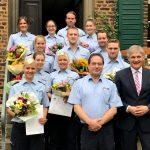 Landrat begrüßt 30 Neuzugänge bei der Kreispolizeibehörde Unna