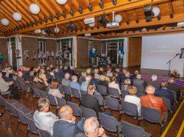 Der HSC-Gesundheitssport lud am Samstagmorgen zum Jubiläumsempfang ins Forum des Schulzentrums ein. (Foto: P. Gräber - Emscherblog.de)