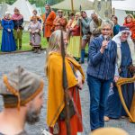 Römische Legionäre und Schotten erobern Emscherpark im Handstreich