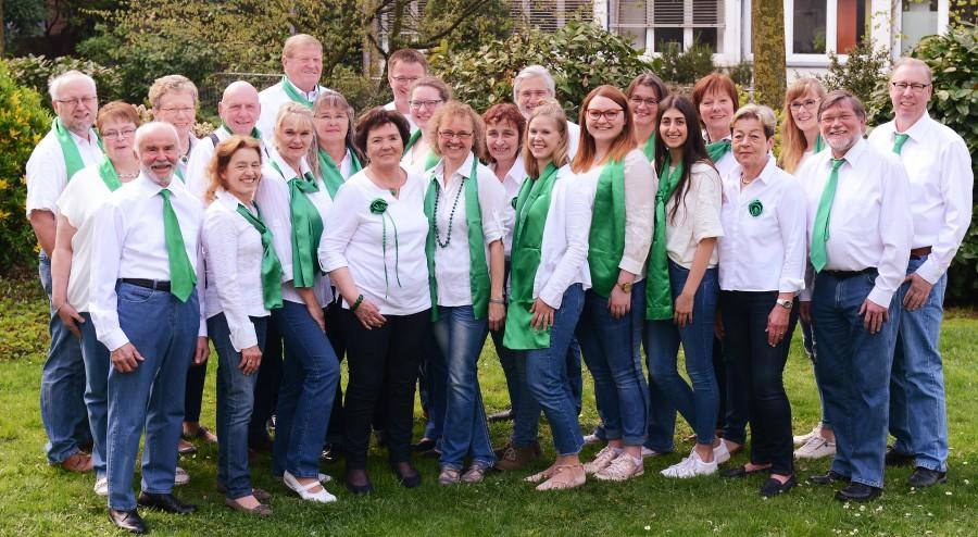 """Mit dem Prädikat """"Leistungschor des Chorverbandes NRW"""" ausgezeichnet: der Holzwickeder Chor Cantabile. (Foto: Cantabile)"""