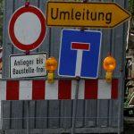 Neue Wasserleitung: Vollsperrungen der Oststraße