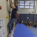 Paul-Gerhardt-Schule 60 Jahre alt: Boulderwand als Geburtstagsgeschenk