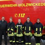 Beförderungen im Löschzug 1 der Feuerwehr
