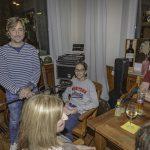 Lukullisch-literarischer Abend im Vivo: Erste gemeinsame Lesung von Vater und Sohn