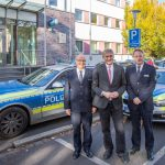 Landrat stellt neue Führungsspitze der Kreispolizeibehörde vor