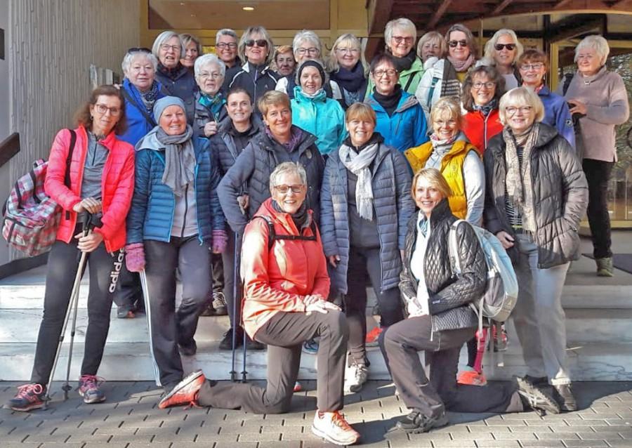 Die Teilnehmerinnen des HSC-Sportwochenendes in Bad Salzuflen. (Foto: privat)