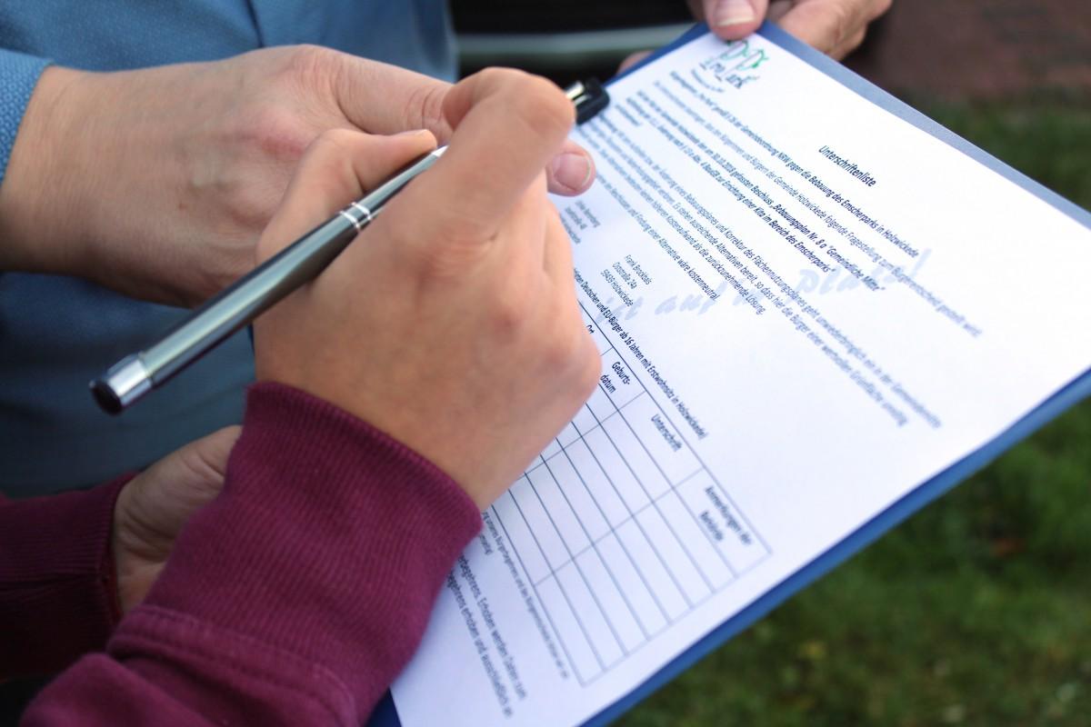 Das Bürgerbegehren ist grundsätzlich zulässig. Doch noch kann die Initiative Pro Park nicht mit der Sammlung der Unterschriften gegen die Kita beginnen. (Foto: privat)