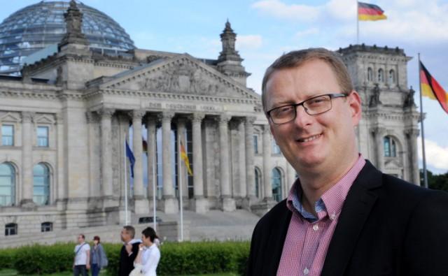 Hat noch einmal die Initiative in Sachen Durchstich ergriffen und den Konzernbevollmächtigten der Bahn für das Land NRW um Klarstellung gebeten: der SPD-Bundestagsabgeordnete Oliver Kaczmarek. (Foto: SPD)