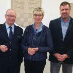 Neuer Leiter der Kreispolizei Unna: Antrittsbesuch von Peter Schwab im Rathaus