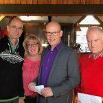 Radsportler des HSC ehren Jubilare und beste Radler bei Jahresabschlussfeier