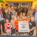 "Dudenrothschule jetzt auch offiziell ""Juniorschule des Volleyballs"""