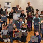 Museumspädagogik auf Haus Opherdicke: Aloysiusschüler lassen Fantasie freien Lauf