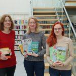 Laura Kleist absolviert Freiwilliges Soziales Jahr in der Gemeindebücherei