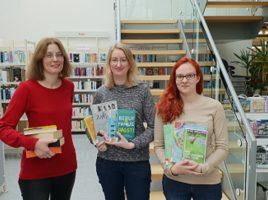 Kristina Truß, Silke Becker freuen sich über die Unterstützung durch Laura Kleist. (von links) (Foto: privat)