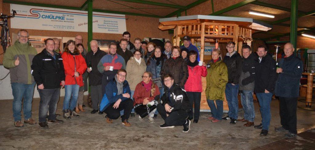Das Adventsgrillen der CDU fand an diesem Wochenende bei Familie Bolle in Opherdicke statt. (Foto: privat)