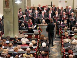 Schon Tradition: Der MGV Eintracht stimmt am 3. Advent in der ev. Kirche Opherdicke mit einem Konzert auf Weihnachten ein. (Foto: privat)