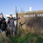 Rückbau der Emscher Kaserne hat begonnen: Schriftzug bleibt als Erinnerung erhalten