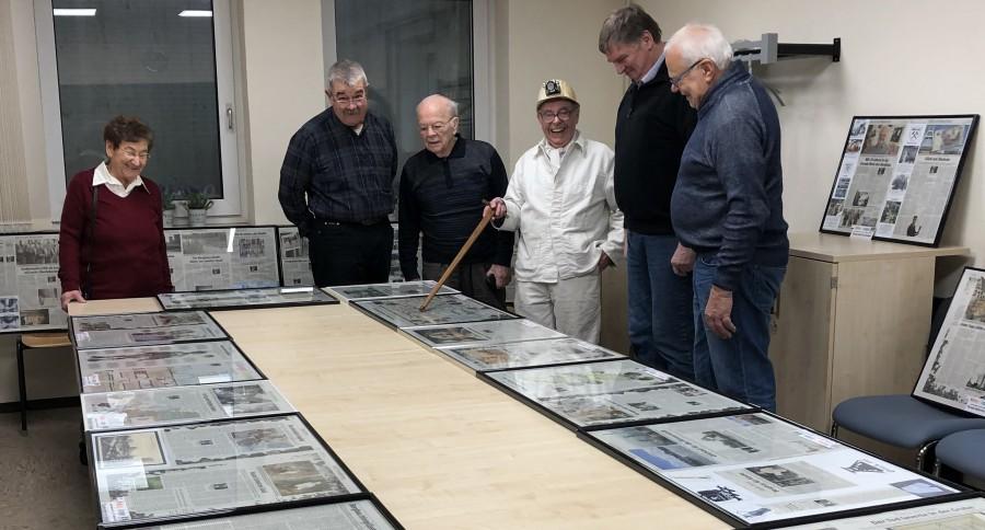 Zum Ende des Bergbaus im Ruhrgebiet hielt Karl Stadler (3.v.r.) in traditioneller Bergmannskluft einen Vortrag. (Foto: privat)