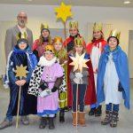 Kreishaus-Besuch zum Dreikönigstag: Dezernent begrüßt Sternsinger