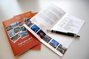 """Die neue Broschüre des Kreises Unna zeigt die kulturellen """"Highlights 2019"""". (Foto: Max Rolke – Kreis Unna)"""