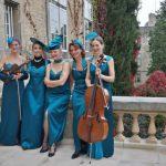 WeltMusik MusikWelt: Dresdner Salondamen gastieren im Spiegelsaal