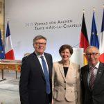 Jochen Hake Zeuge eines historischen deutsch-französischen Moments