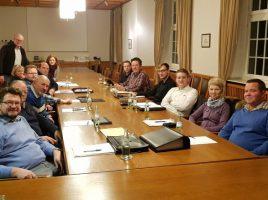 Die CDU-Fraktion kam in dieser Woche zur letzten Sitzung im altehrwürdigen Rathaus zusammen. (Foto: privat)
