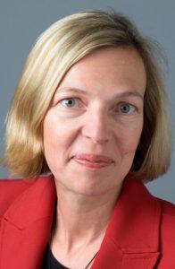 Die Buchautorin und FAZ-Korrespondentin in Paris, Michaela Wiegel. (Foto: Freundeskreis)