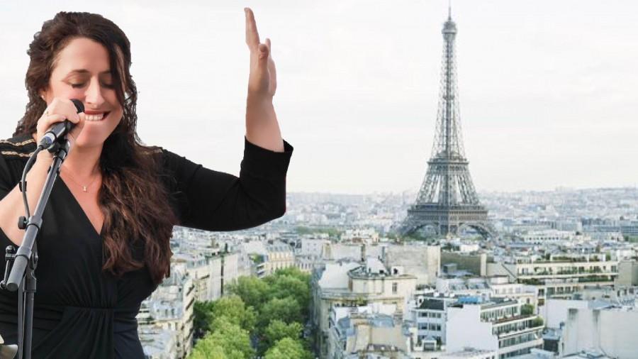 Singt bei der Festmatinee zum 40. Geburtstag des Freundeskreises im Forum: die französische Chansonsängerin Véronique Elling. (Foto: Freundeskreis)