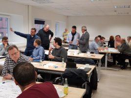 Bei einem Workshop im LAZ von Peter Steckel erarbeiteten die Christdemokraten ihre Strategie für das neue Jahr. (Foto: privat)