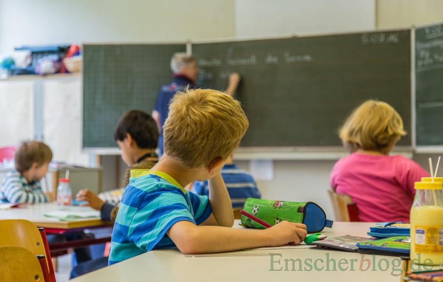 Grundschule, Unterricht, (Foto: P. Gräber - Emscherblog)