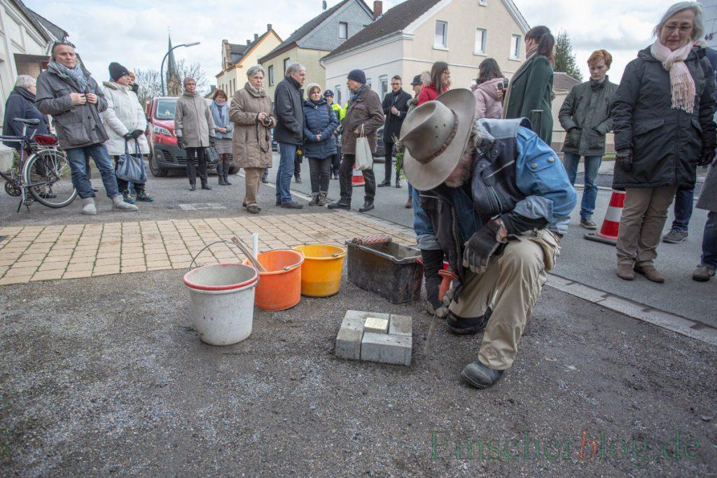 Die nächste Stolpersteinverlegung in der Gemeinde ist am 9. Oktober geplant. Foto: P. Gräber - Emscherblog)