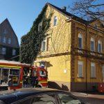 Dicke Luft in der alten Kämmerei: Feuerwehr bildet Atemschutzgeräte-Träger aus