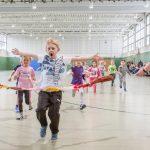 Großer Wettlauf: Aufregender Tag für die Kinder des Familienzentrums Löwenzahn