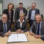 Energienetze GmbH und Gemeinde unterzeichnen neue Konzessionsverträge