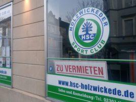 Nachmieter gesucht: Der HSC-Gesundheitssport gibt den HSC-Point an der Hauptstraße auf und zieht zur Kirchstraße in größere Räume um. (Foto: privat)