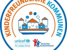 Siegel des Vereins Kinderfreundliche Kommune