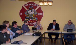 Selmer Bürgermeister Mario Löhr in SPD-Fraktion zu Gast