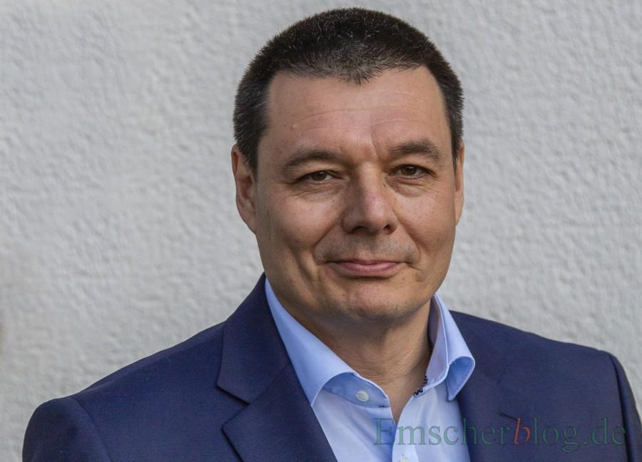 """Steht nach Ansicht der Grünen und FDP für """"neue zukunftsorientierte Entwicklungen und Angebote"""": der SPD-Bürgermeisterkandidat Peter Wehlack.  (Foto: P. Gräber - Emscherblog)"""