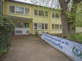 Die neue HSC-Geschäftsstelle an der Haupotstraße n47 (Eingang Kirchstraße). (Foto: P. Gräber - Emscherblog.de)