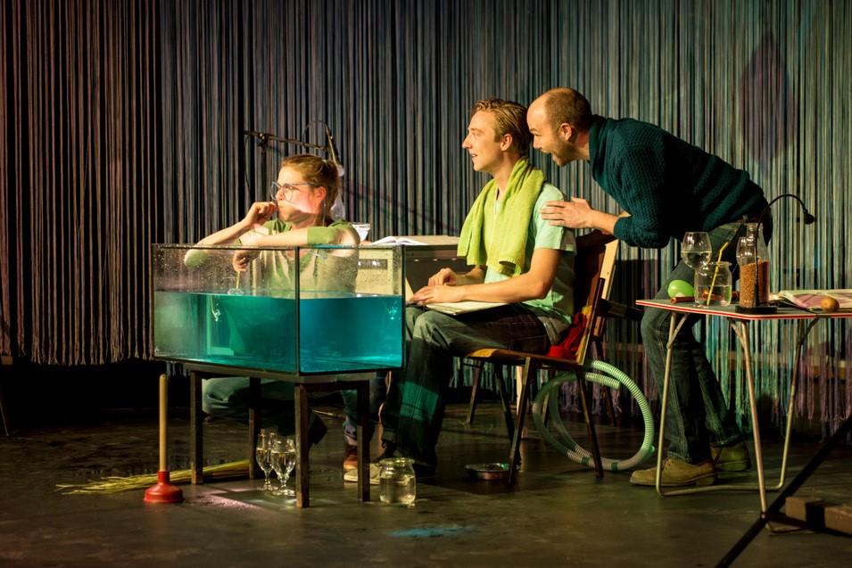"""Die Theatergruppe DOBOSO kommt mit dem Theaterstück """"Der kleine Wassermann"""" am 14. Mai nach Holzwickede (Foto: Jürgen Weller)"""