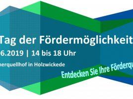 Flyer zur Premierenveranstaltung der WFG.